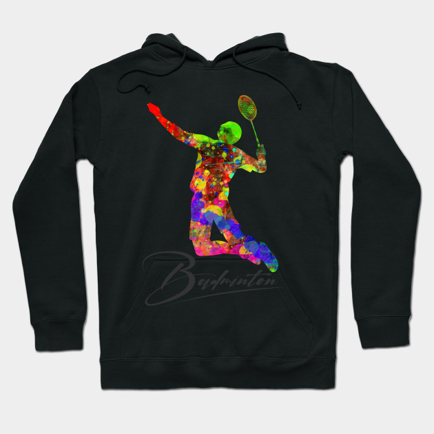 Badminton's Colors of Joy Hoodie
