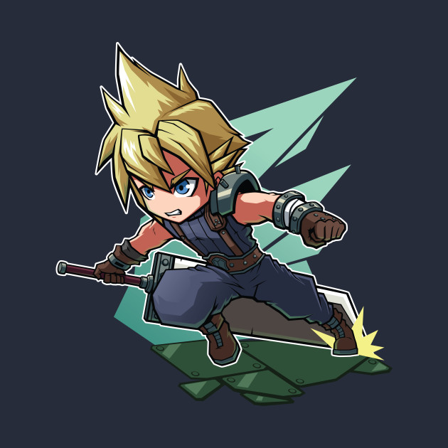 Cloud Strife Chibi