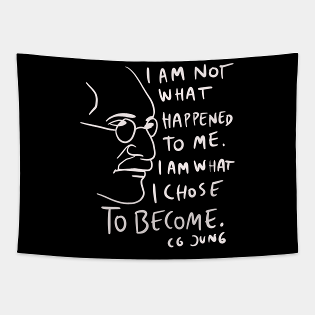 CG Jung Quote - I Am Not What Happened To Me