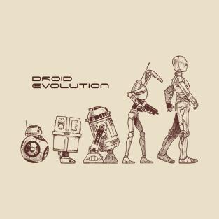 Droid Evolution t-shirts
