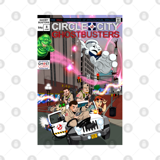 Circle City Ghostbusters #8