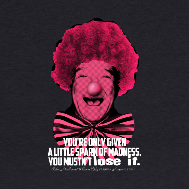 Robin Williams T-shirt style 1o1