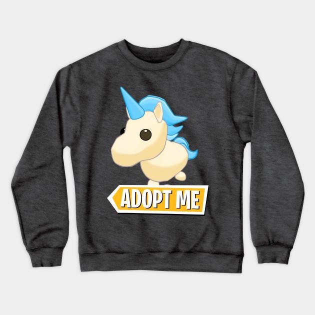 Adopt Me Golden Unicorn Adopt Me Sweat Shirt Teepublic Fr