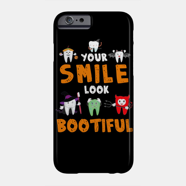 Your Smile Looks Boo Ti Ful Dental Assistant Halloween Phone Case