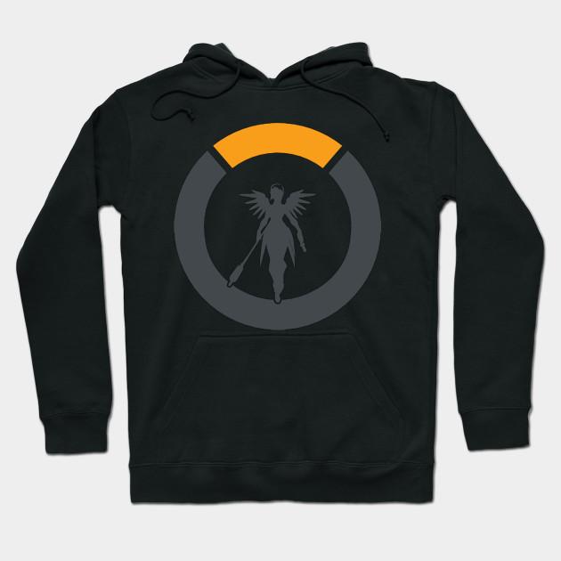 319356dbd Overwatch Mercy Logo - Overwatch - Hoodie | TeePublic