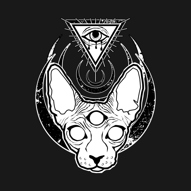 All seeing Sphynx
