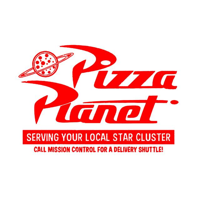 pizza planet pizza planet onesie teepublic. Black Bedroom Furniture Sets. Home Design Ideas