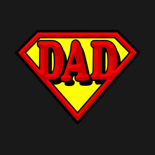 super dad superman tshirt teepublic