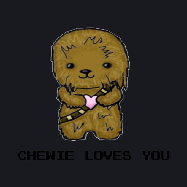 Chewbacca Valentines Day