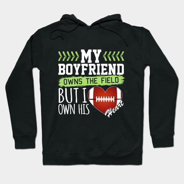 Football Girlfriend My Boyfriend Owns The Field But I Own His Heart