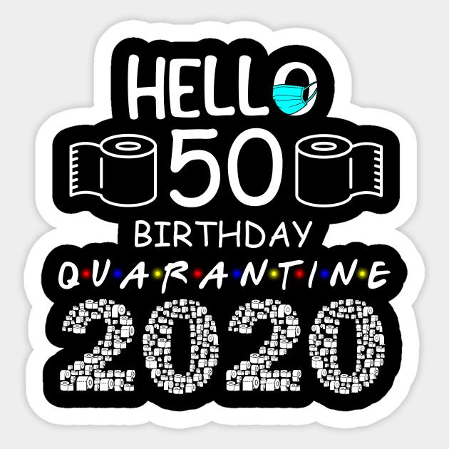 50 and Fabulous 50th Birthday Quarantine Party Black 50 Confetti for Husband Quarantine 50th Birthday Party Decoration 50th Bday Confetti Toilet Paper Confetti 50 and Quarantine 25 Pieces
