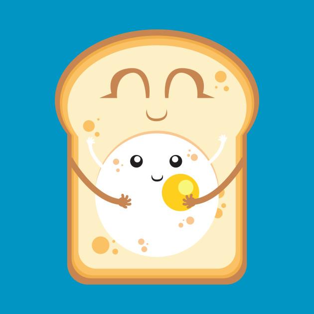 Breakfast egg toast