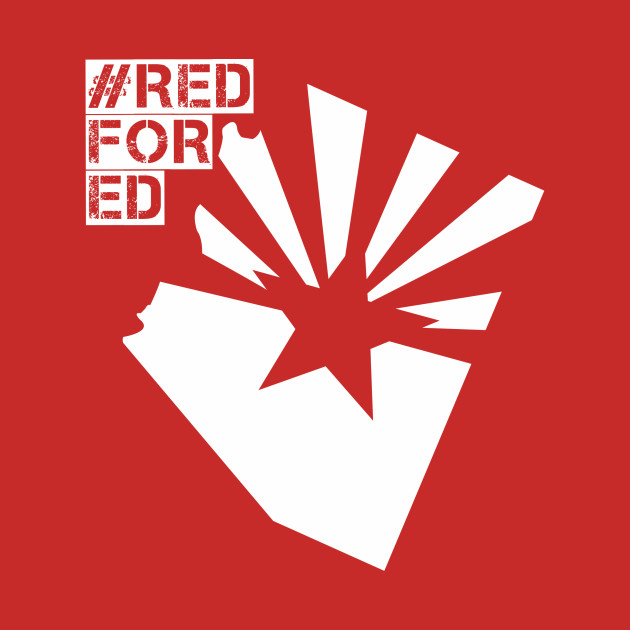 Arizona Teachers Endangered Species Redfored Red Fo Ed T Shirt
