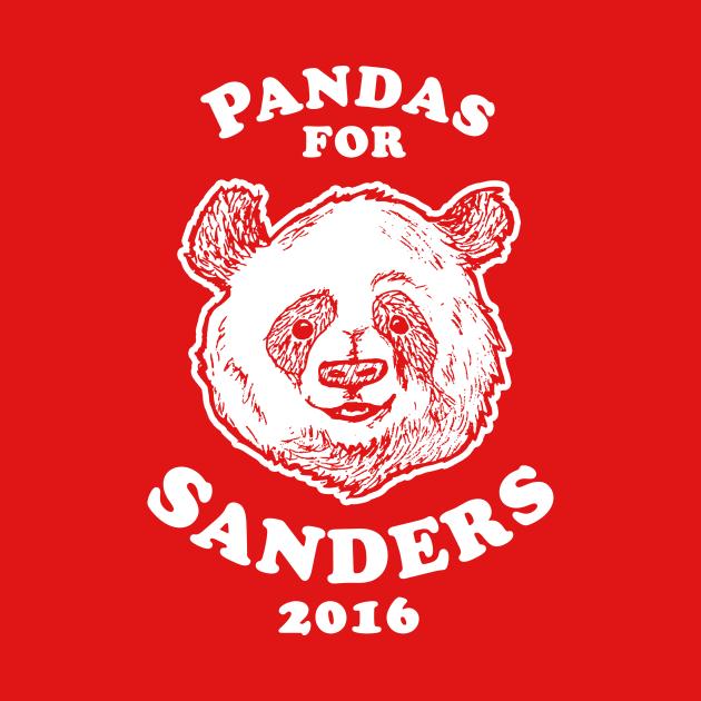 Pandas For Sander T-Shirt