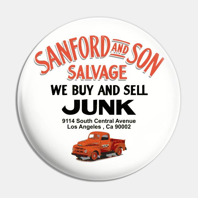 Sanford & Son Salvage Sign