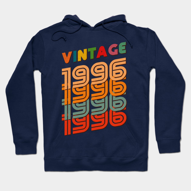 22nd Birthday Gifts Vintage 1996 For 22 Years Old Hoodie