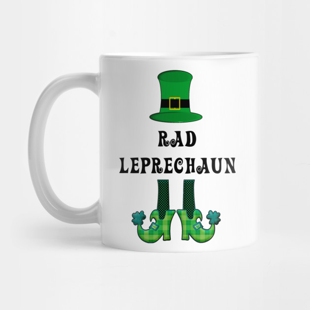 St Patrick's St Paddy's St Patty's Day Rad Leprechaun Mug