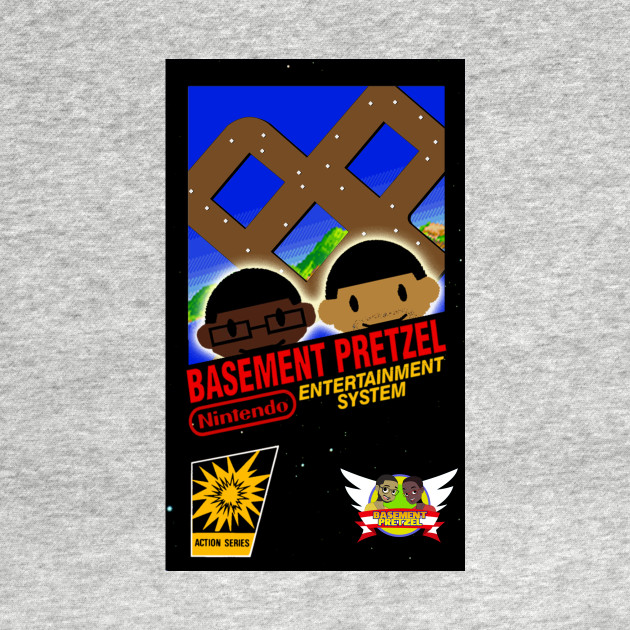 NES Basement Pretzel Game Cover