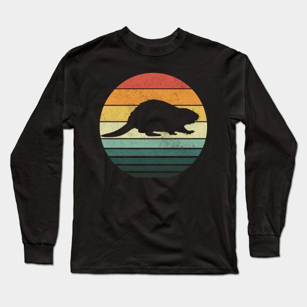 Funny Retro 70/'s Seventies Beaver T Shirt