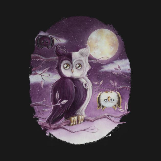 Blank Infinity The Owl
