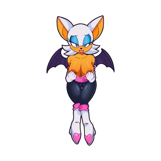 Rouge The Bat - Sonic - T-Shirt