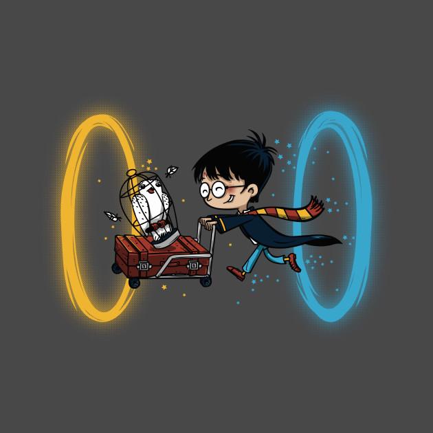 Harry Portal Harry Potter T Shirt Teepublic