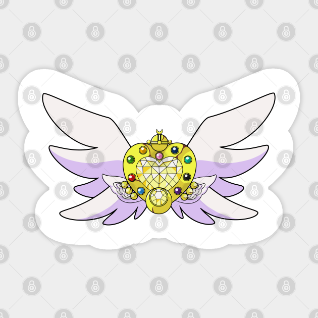 Eternal Sailor Moon Brooch Eternal Bow Sticker Teepublic To start this year off on my channel, let's make sailor moon's crystal star brooch to fight off the evils for this year xd materials: eternal sailor moon brooch