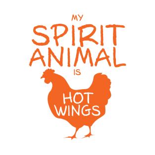 Spirit Animal - Hot Wings t-shirts
