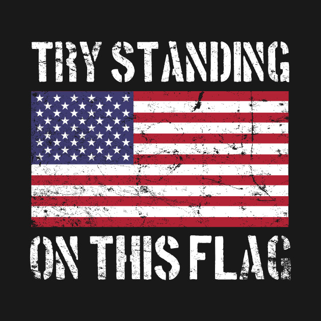 Try Standing on this Flag