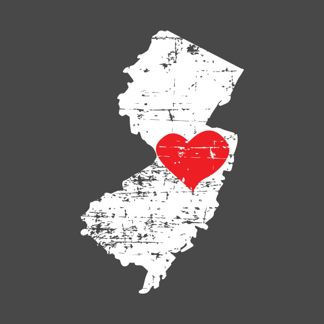 3 New Jersey State Map Gift T Shirt for Men Women and Kids - New ...