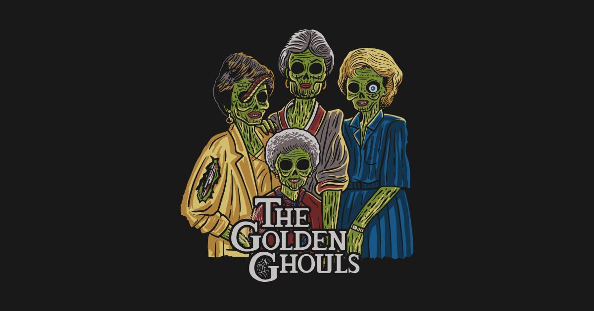 the golden ghouls - horror