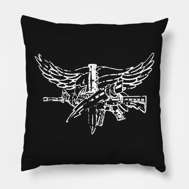 SWAT Eagle Light Dirty - Police - Throw Pillow   TeePublic