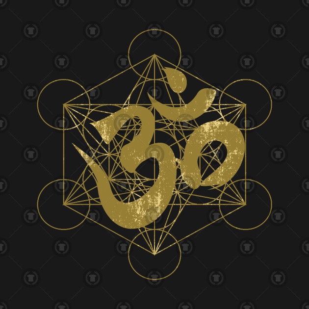 Om and Metatron's Cube