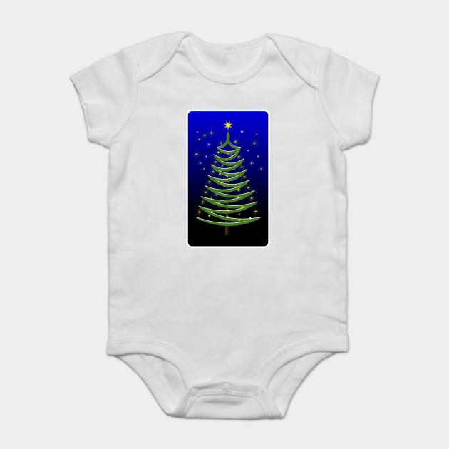 Christmas Tree Onesie.Limited Edition Exclusive Stylised Christmas Tree