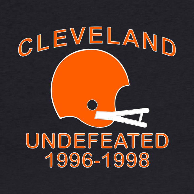 CLEVELAND UNDEFEATED 1996-1998