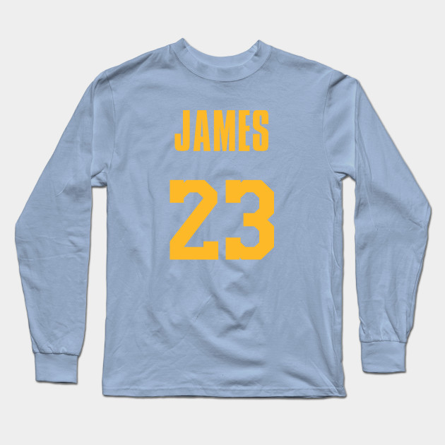 f1fb48be98c9 LeBron James MPLS Lakers Jersey - Lebron James - Long Sleeve T-Shirt ...