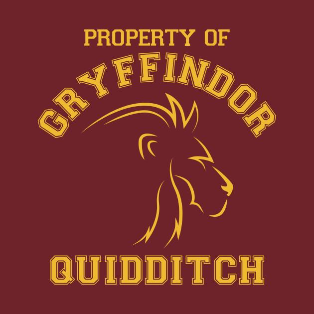 Harry Potter Gryffindor Quidditch Gryffindor Maglietta