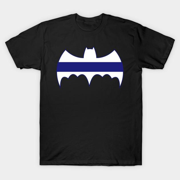 batman t shirt blue
