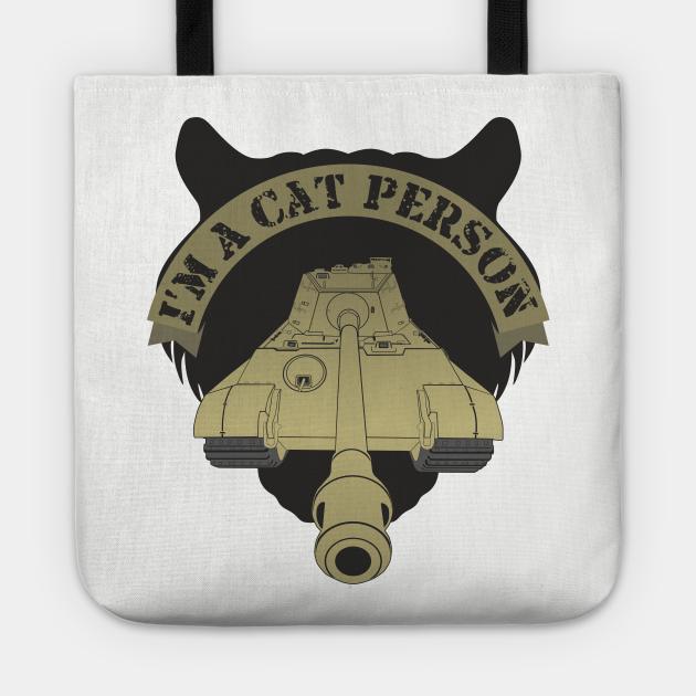 I'm A Cat Person Pz VI Ausf. B, Tiger II