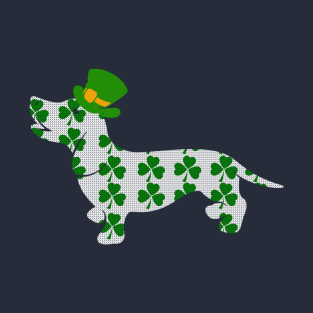 Dachshund Happy Patrick's Day