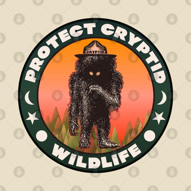 Protect Cryptid Wildlife ))(( Cryptozoology Fan Art