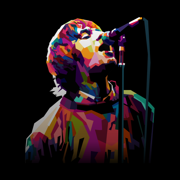 Liam Gallagher Young WPAP