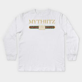 09955ecf Mythiitz Made of Money Kids Long Sleeve T-Shirt