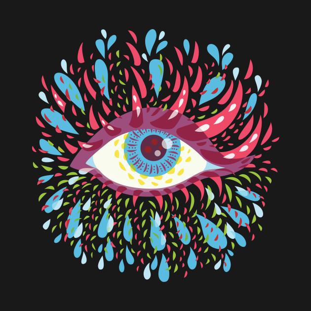 Weird Psychedelic Eye