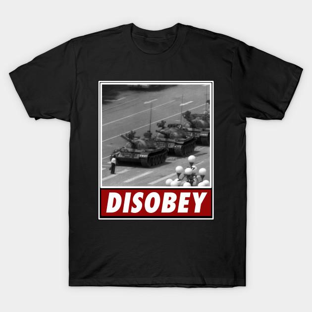 Tank Man Disobey