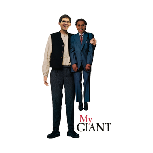 Patty Mills and Boban Marjanovic in: MY GIANT t-shirts