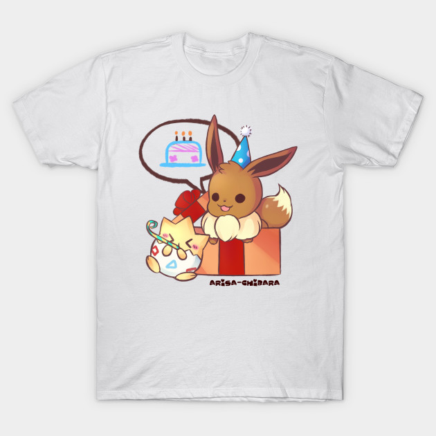 d8c1ecc9 Eevee and Togepi Birthday Shirt - Pokemon - T-Shirt | TeePublic