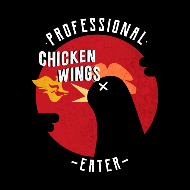 Professional Chicken Wings Eater
