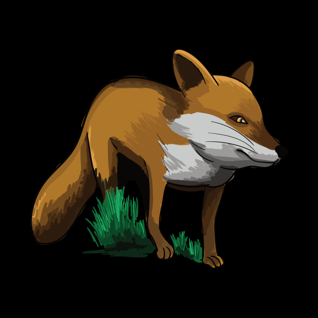Fox foxes cute animal forest gift