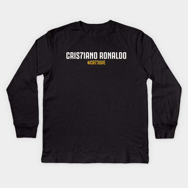 d6b56830e CR7 Juventus Cristiano - Cr7 - Kids Long Sleeve T-Shirt